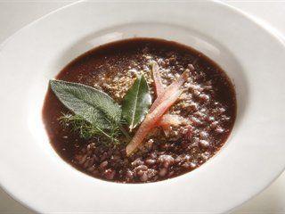 Risotto with Barbera wine   Italian Recipes   Italian recipes - Italian food culture - Academia Barilla