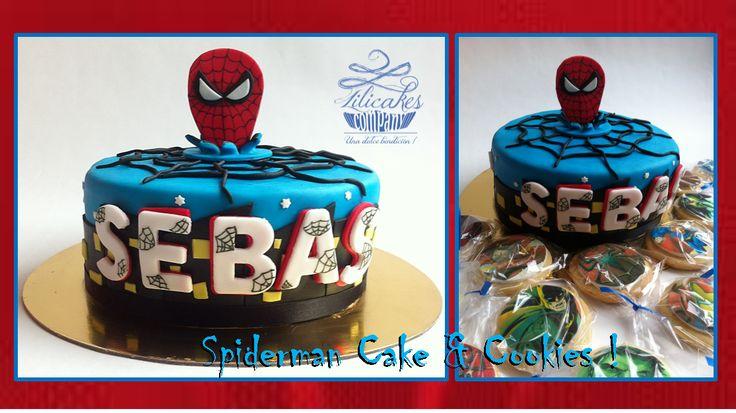 Spiderman Cake Torta de Spiderman Ponque de Spiderman