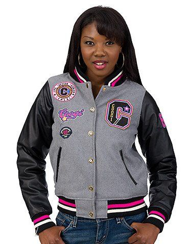 Coogi Multi Patch Varsity Jacket $59.99