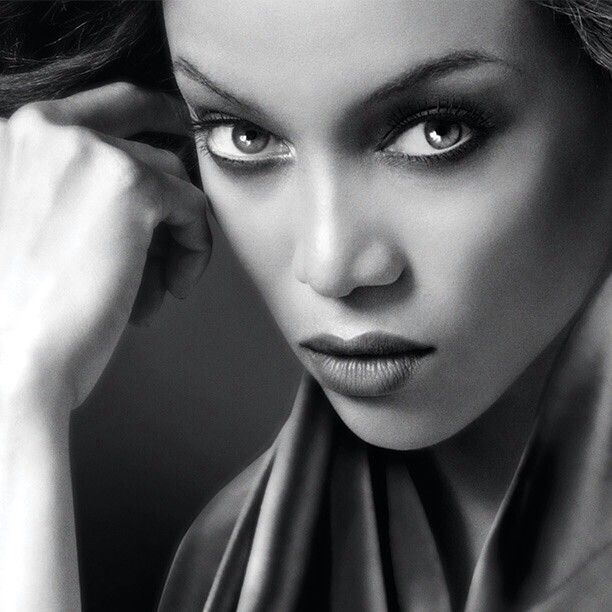 Tyra Banks Black And White