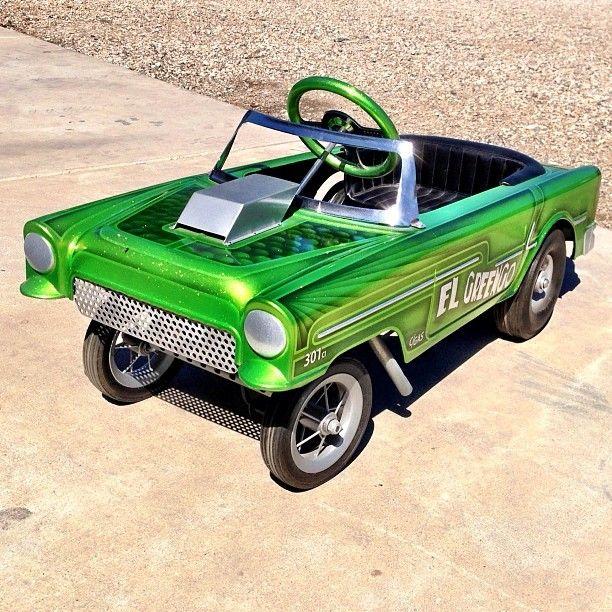 gasser, pedal car