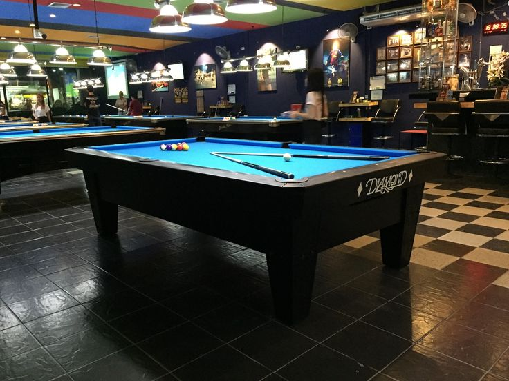 Diamond Pro-Am 9ft Delivered at Double Kiss Pool Hall in Pattaya