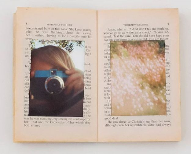 34 Diy Photo Albums To Showcase All Those Pics Diy Photo Book Photo Album Diy Diy Old Books