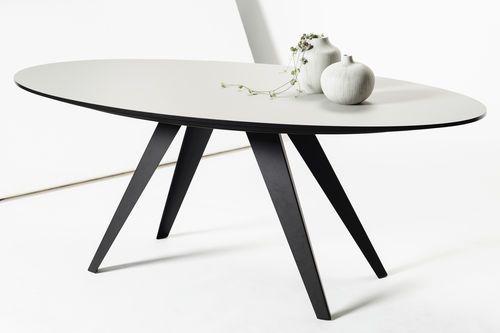 Mesa de comedor / ovalada / de interior / moderna BELLY by Kees Marcelis Odesi…