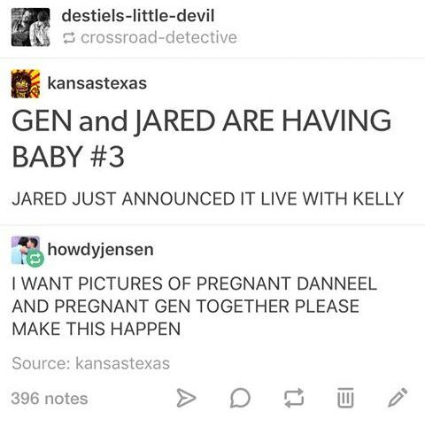 Jared and Gen are having another baby!!
