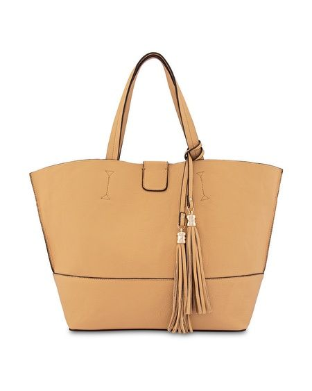 How to style a neutral handbag – 4 fabulous outfits with this tan bag