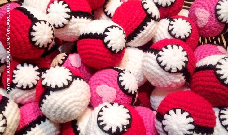 Pokebolas Crochet