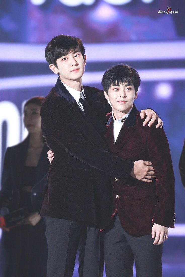 [HQ] 171202 #CHANYEOL #XIUMIN at 2017 Melon Music Awards