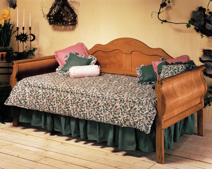 Cheap Daybeds | Cheap Fashion Bed Group Surrey Daybed in Honey Pine