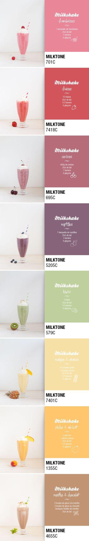 pantone milkshake milktone