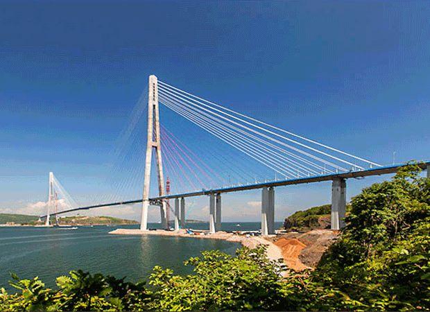 Russky Bridge Russia