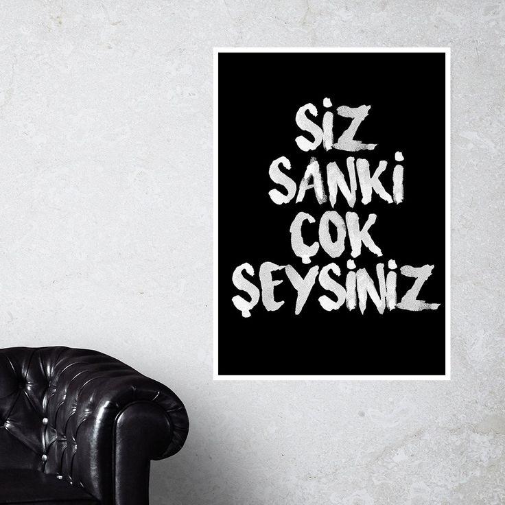 Siz Sanki Çok Şeysiniz! Doovar'dan Türkçe posterler!