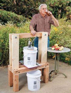 Build an Easy DIY Cider Press - Quarto Homes