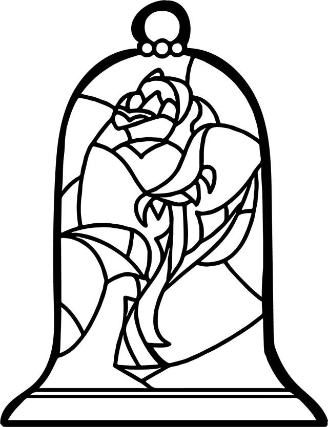 30 Exclusive Picture Of Rose Coloring Pages Albanysinsanity Com Rose Coloring Pages Stained Glass Rose Disney Stained Glass