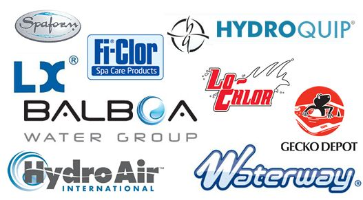 Our Brands: Balboa, Hydroquip, lo-chlor, waterway, hydroair, gecko depo, LX, spaform http://www.hottubrepairman.co.uk/