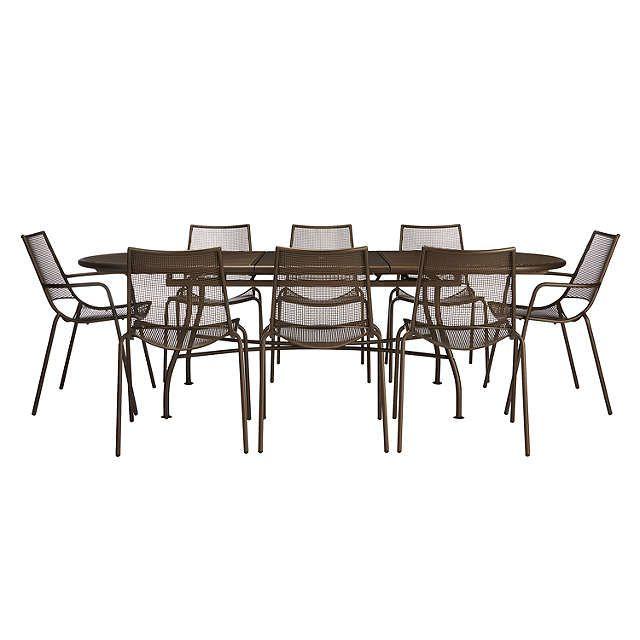 Buy John Lewis Ala Mesh Extending Table   Chairs Dining Set from our Garden  Furniture Sets range at John Lewis. 8 best Bramblecrest Cotswold Garden Furniture images on Pinterest