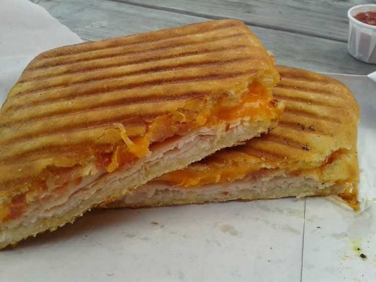Turkey Bacon Cheddar Panini @ Blue Mountain (Collingwood)  $ 7.49 plus tax