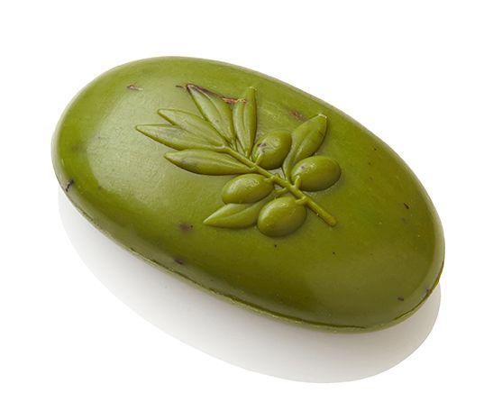 eManufaktúra: Száraz, vízhiányos bőr - Zöld Olívaolajos Ovális Szappan