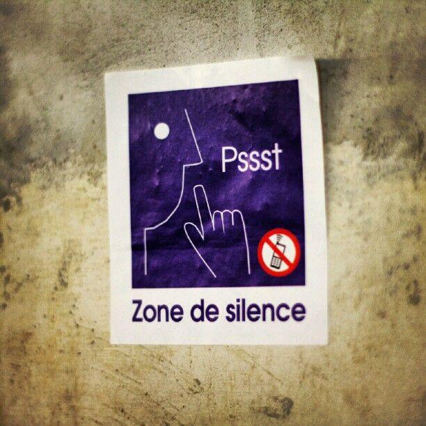 Zone de #silence, #stilte, #UCL, Louvain-la-Neuve, #LLN, Journées du patrimoine 2012