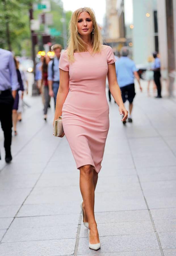 Иванка Трамп. Лучшие платья американской принцессы.