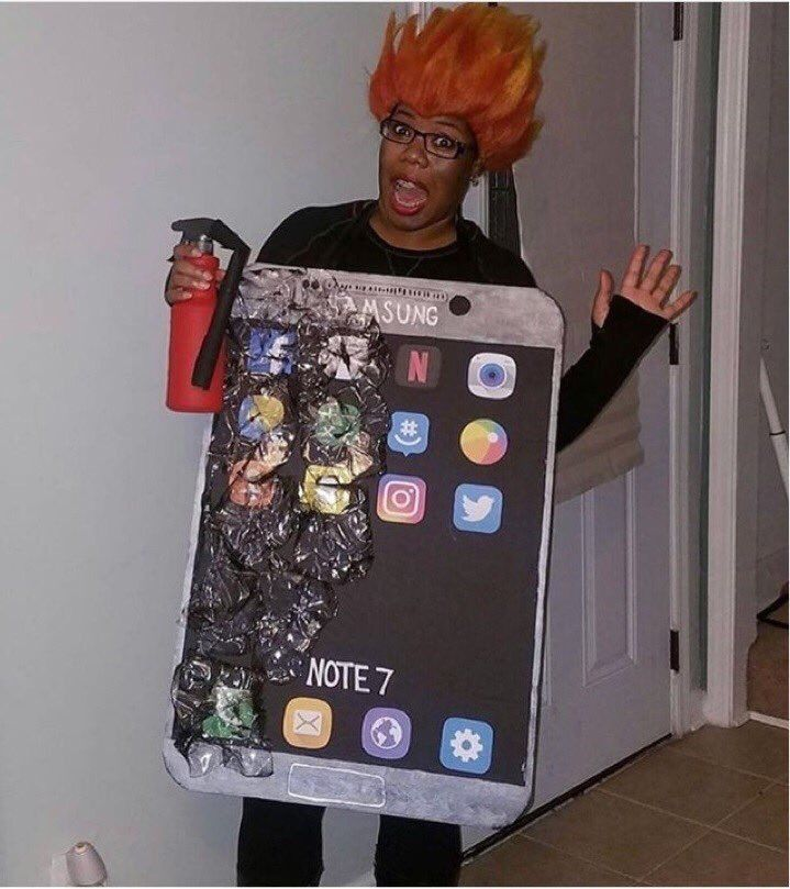 TOP 10 costume Galaxy Note 7 pentru Halloween