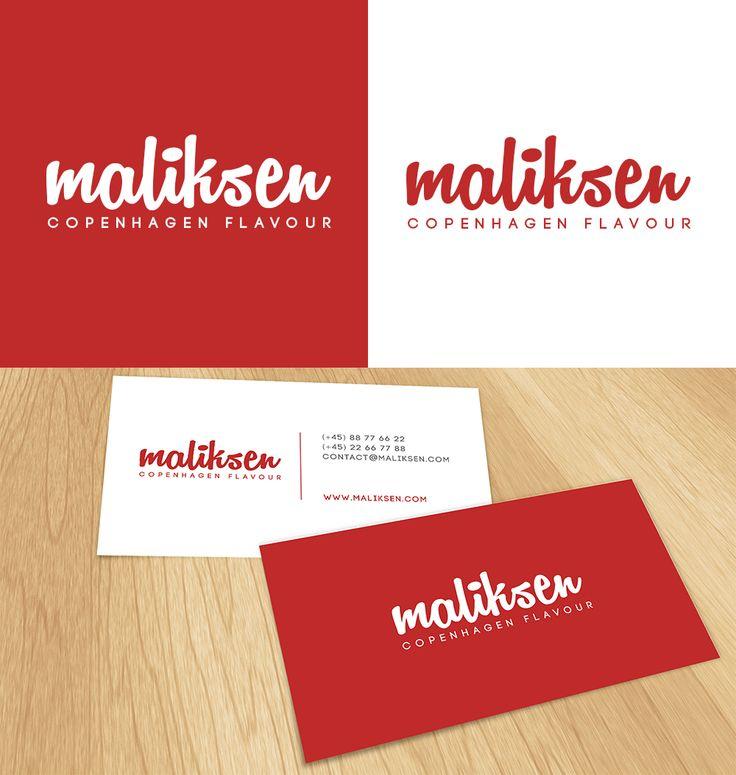Maliksen - Copenhagen Flavour #logo and #businesscard design | #brandrocket
