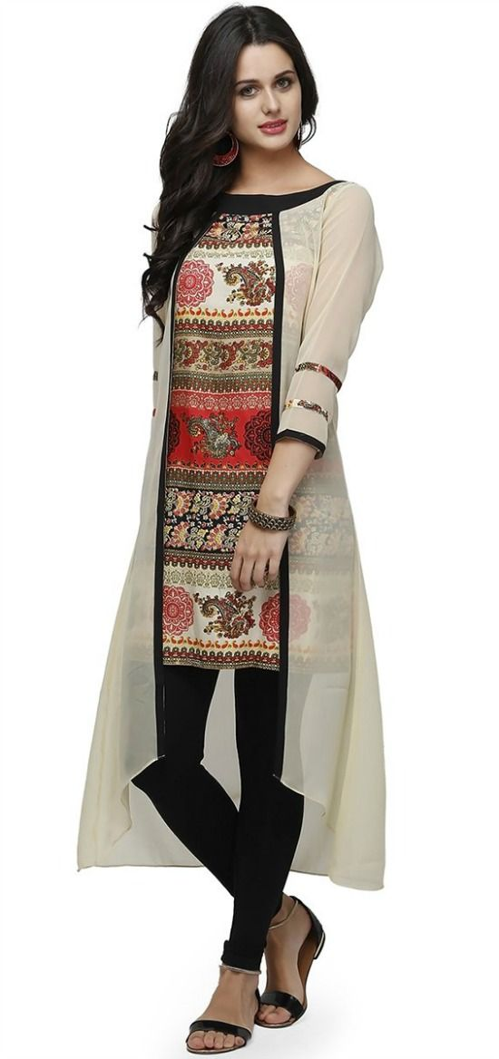 b4979438d4 34 Beautiful Kurti Designs That Will Look Good On Every Woman! | Dress  designs | Dresses, How to wear, Indian designer wear