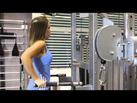 Tríceps nas Barras Paralelas