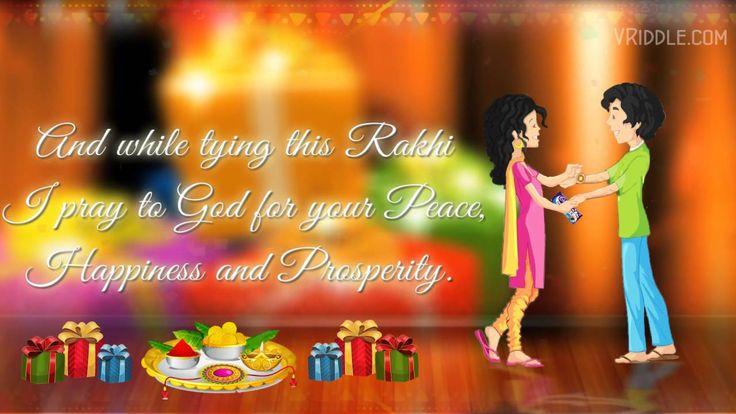 Raksha Bandhan Rakhi Wishes to a Brother - An Animated Greetings Video