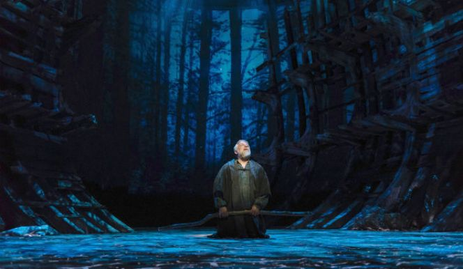 Theatre: The Tempest  Technology and magic take over the Barbican stage as the RSC production of The Tempest transfers to London