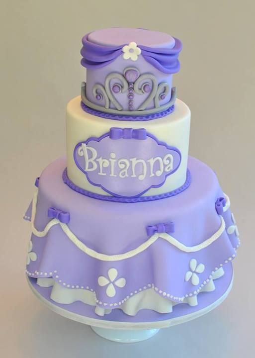 Cake Images Of Sofia The First : 1000+ ideas about Sofia Cake on Pinterest Princess ...