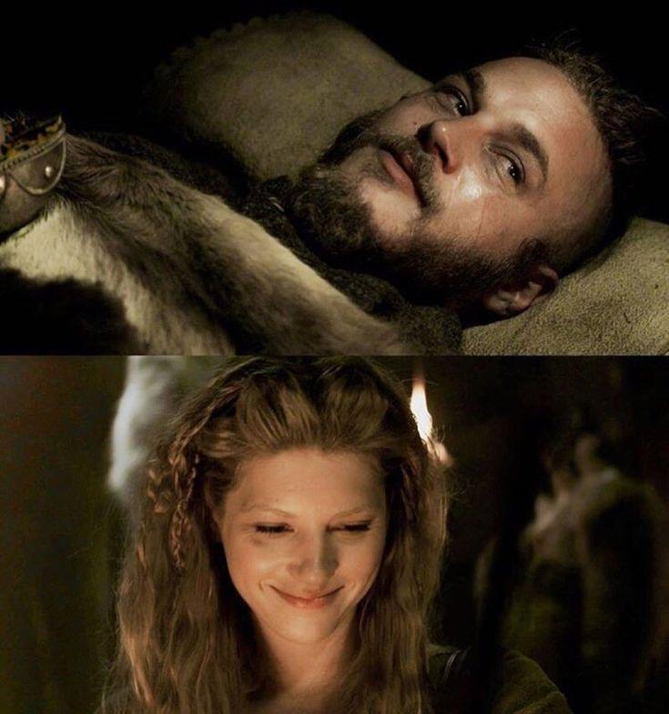 Best couple ever ❤️❤️❤️😢😢😢 #ragnar #vikings #badass #lagertha #earl #king #queen #warriors #couple