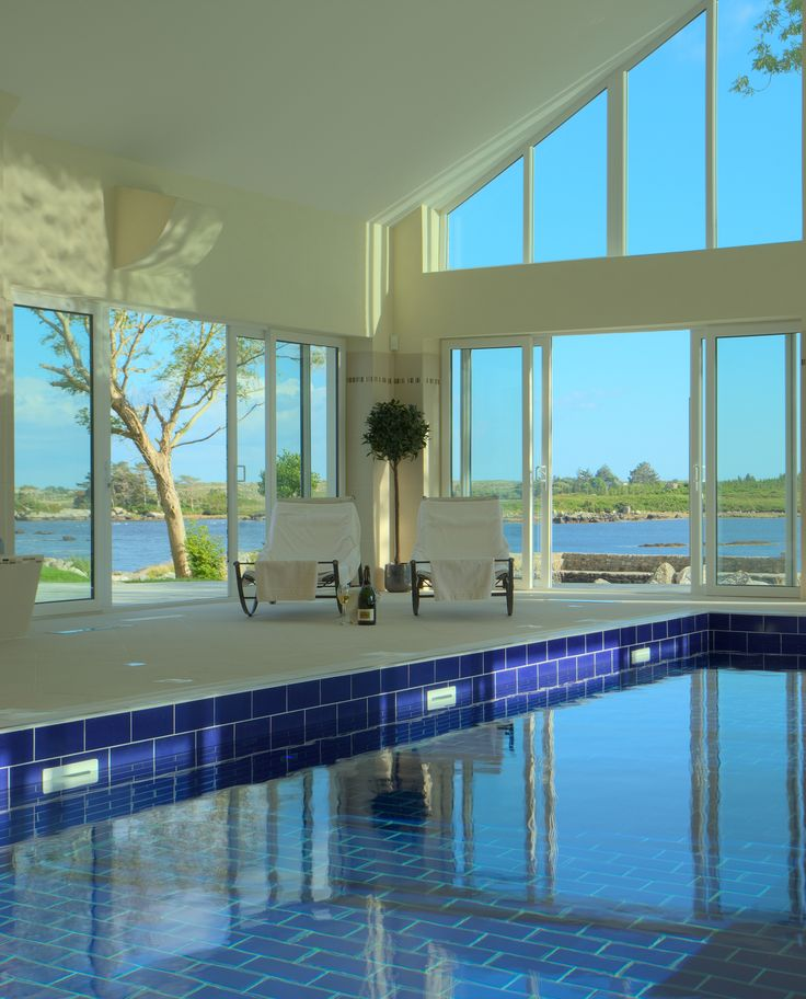Old World Victorian Manor House meets modern Spa amenities. Relax with a swim and some wonderful views from Screebe House