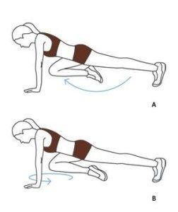 Cool ab moves, I haven't seen these before.