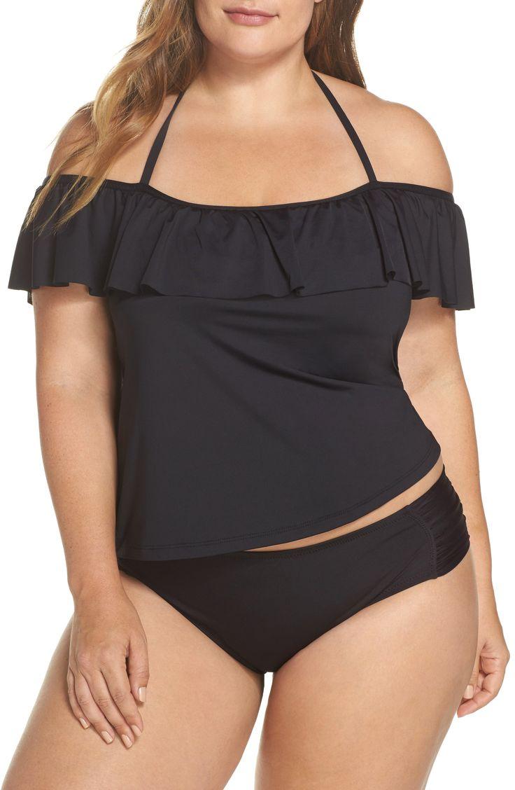 Plus Size Tankini Swimsuit