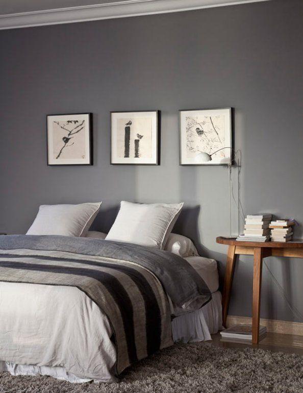 Une chambre aux harmonieuses nuances de gris