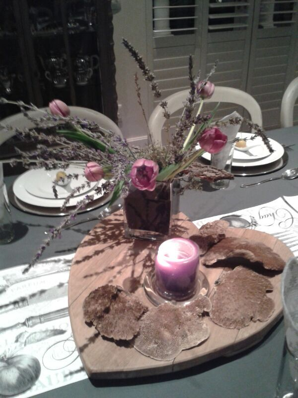 Table scapes on a budget