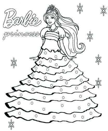Collection Of Barbie Baby Coloring Pages Download Them And Try To