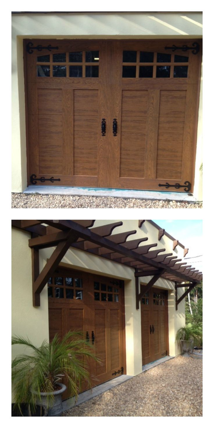 Faux wood painted garage doors - Faux Wood Painted Garage Doors