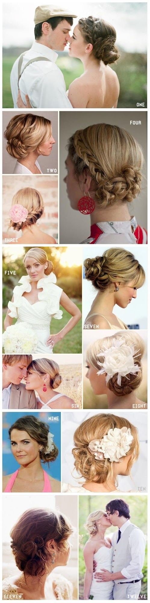 12 Beautiful Chignon Hairstyles | hairstyles tutorial
