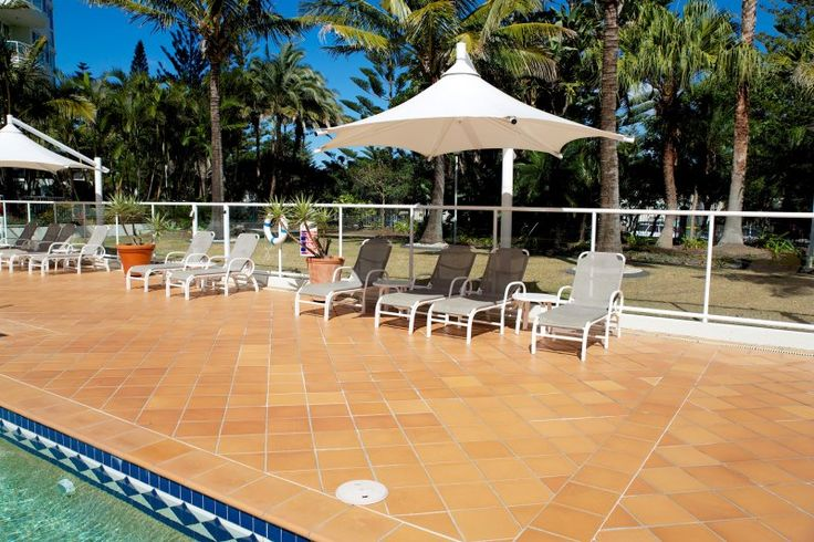 Carmel By The Sea - Outdoor pool area - Gold Coast Self Contained Apartments