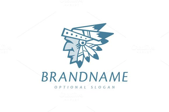 For sale. Only $29 - blue, mask, American, tribe, character, bird, face, feather, leader, spirit, head, warrior, hat, old, wisdom, native, nation, Indian, chief, headdress, Cherokee, shaman, logo, design, template,