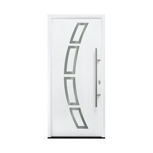 1000 ideas about porte alu on pinterest vourles porte pvc and porte entre - Castorama porte d entree ...