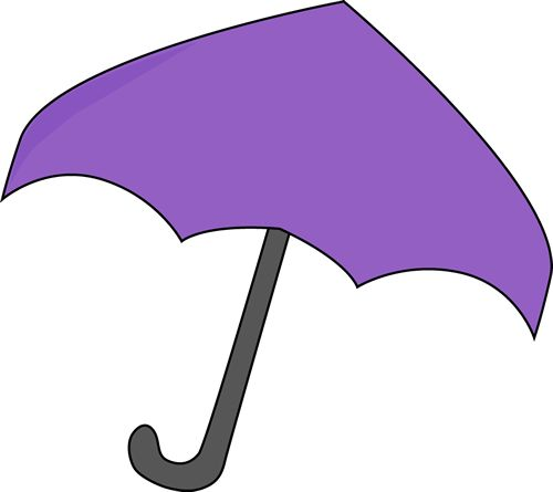 purple umbrella | Purple Umbrella Clip Art Image - large purple umbrella.