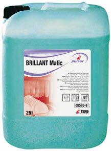 Tana Brillant Matic este un agent de clatire pentru masinile de spalat vase. Accelereaza timpul de uscare si previne depunerile de calcar.