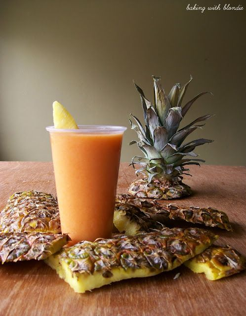 Carrot-Pineapple Smoothie. Liver cleansing raw food anti cancer diet recipes for a healthy liver.