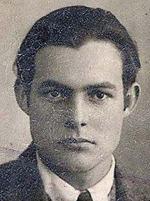Toronto Star reporter Ernest Hemingway 90 years ago, in 1923. ~via Vintage Toronto, FB