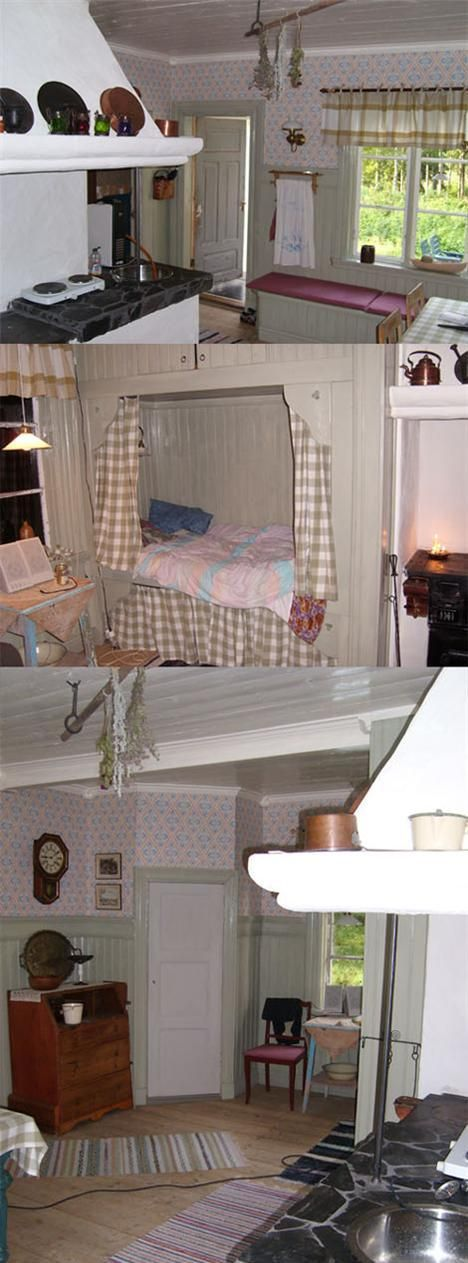 Swedish Decor, Swedish Design, Swedish Style, Scandinavian Interiors, Cots,  Chalets, Country Style, Beautiful Homes, Sweden