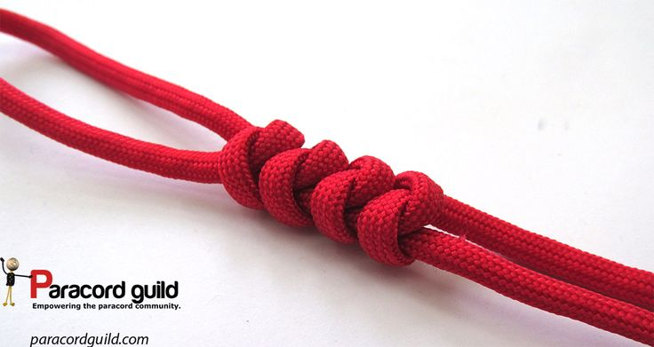 A tutorial on the 2 strand wall knot.