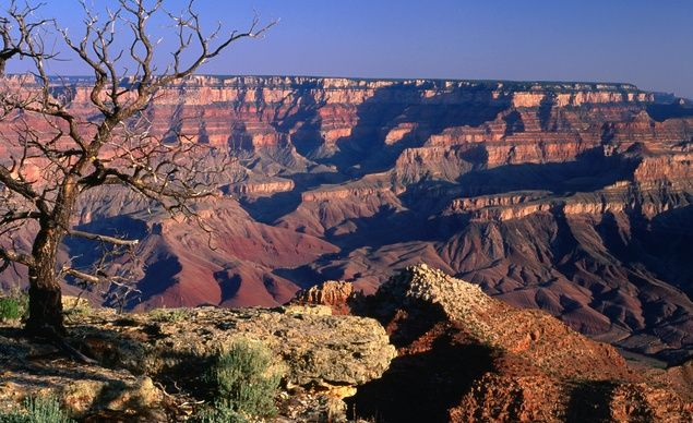 The Grand Canyon - The Grand Canyon's wide vistas seem to dwarf even the people who try to pose in the foreground. (We don't recommend it.) Budget Travelers agree that it's one of America's most humbling, contemplative destinations, and it's the most Instagrammed place in Arizona. (Lonely Planet)